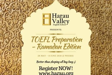 TOEFL RAMADAN HARAU VALLEY ENGLISH SCHOOL